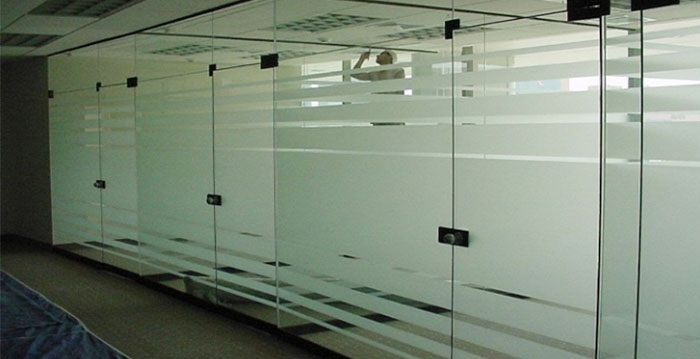 Aluminum Glass Partition